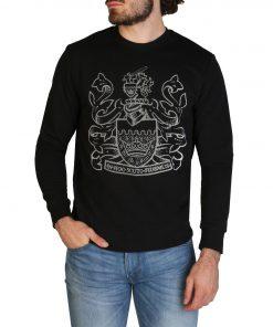 Aquascutum FAI001 Sweatshirts for Men Black