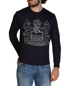 Aquascutum FAI001 Sweatshirts for Men Blue