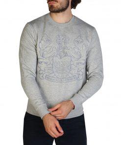Aquascutum FAI001 Sweatshirts for Men Grey