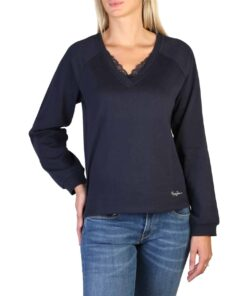 Pepe Jeans ALBERTA_PL580742 Sweaters for Women Blue